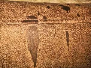 Manchas de cera en el cuero-4